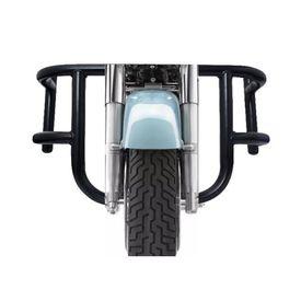 Speedwav Air-Fly 2 Bends Bike Safety Leg Crash Guard Black for Royal Enfield