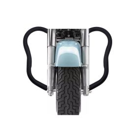 Speedwav Rear Leg Crash Bike Safety Guard Black for Royal Enfield