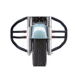 Speedwav Diamond 2 Rods Bike Safety Leg Crash Guard for Royal Enfield
