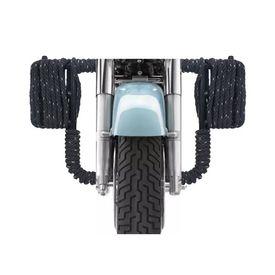 Speedwav Fat Rope Black Rope Bike Safety Leg Crash Guard for Royal Enfield