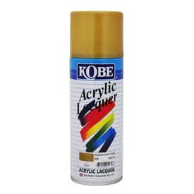 Kobe Spray Paint for Car Bike Metal Wall 400ml-Golden