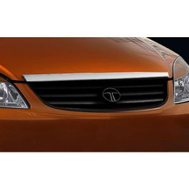 Speedwav (Upper) Front Chrome Grill Covers-Tata Indica (1998-14)