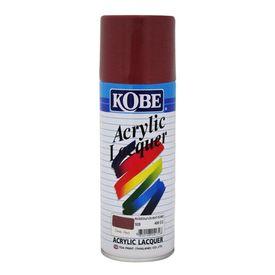 Kobe Spray Paint for Car Bike Metal Wall 400ml- Deep Red