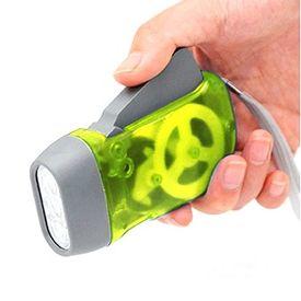 Green Hand Pressing LED Emergency Light
