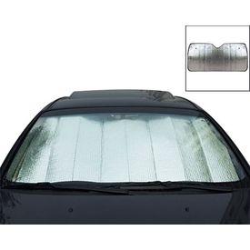 Speedwav Car Front Windshield Foldable Sunshade 126cm x 60cm Silver