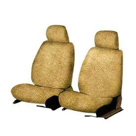 Speedwav Front Seats Sweat Control Towel Seat Covers Set of 2 Beige