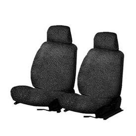 Speedwav Front Seats Sweat Control Towel Seat Covers Set of 2 Black