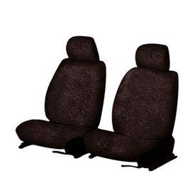 Speedwav Front Seats Sweat Control Towel Seat Covers Set of 2 Coffee