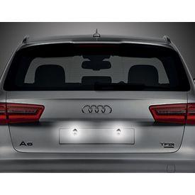 Speedwav Car LED Number/Licence Plate White Lights Set Of 2