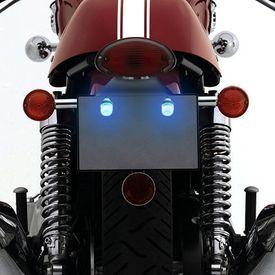 Speedwav Bike LED Number/Licence Plate Ice Blue Lights Set Of 2
