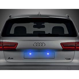 Speedwav Car LED Number/Licence Plate Ice Blue Lights Set Of 2