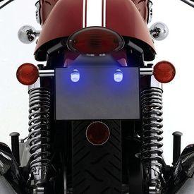 Speedwav Bike LED Number/Licence Plate Blue Lights Set Of 2