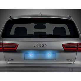 Speedwav Car LED Number/Licence Plate Blue Lights Set Of 2