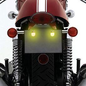 Speedwav Bike LED Number/Licence Plate Yellow Lights Set Of 2