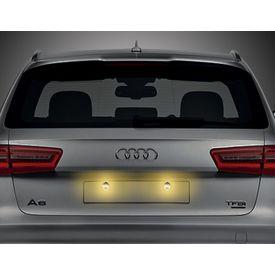 Speedwav Car LED Number/Licence Plate Yellow Lights Set Of 2