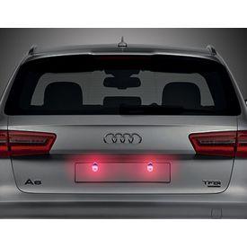 Speedwav Car LED Number/Licence Plate Red Lights Set Of 2