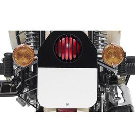 Speedwav Bike Tail Light Grill Cover Black for Royal Enfield