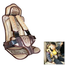 Speedwav Portable Baby/Child Safety Car Seat for 0-4 years-Coffee