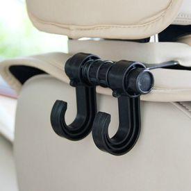Speedwav Headrest Luggage Hanger Car Holder - Double Hooks