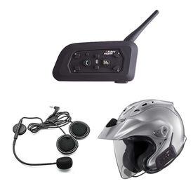 Speedwav V6 Bike Helmet Bluetooth Headset for Call/Music/Intercom