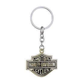 Harley Davidson Style Keychain-Golden