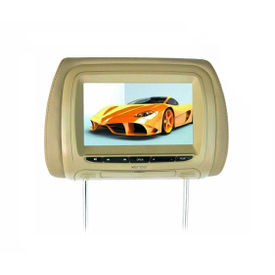 Xenos PEACOCK-(7 Inches) Headrest Monitor With USB Socket For Cars - BEIGE (85000036)