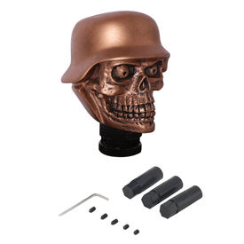 Speedwav Car Bronze Skull Gear Knob