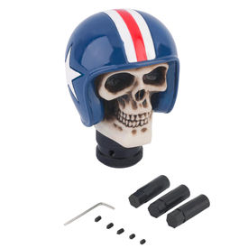 Speedwav Car Skull Blue Helmet Gear Knob