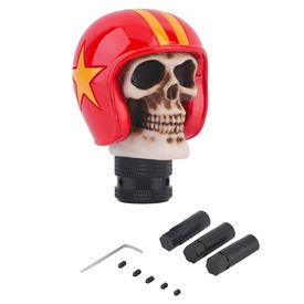 Speedwav Car Skull Red Helmet Gear Knob