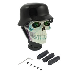 Speedwav Car Skull Black Helmet Gear Knob