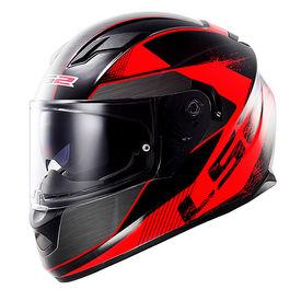 LS2 Helmet FF320-L Stream Stinger Black Red