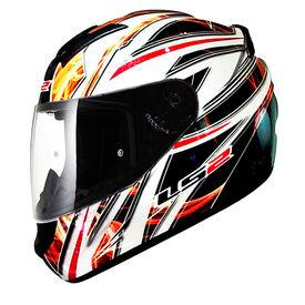 LS2 Helmet FF352-L Orange Blast