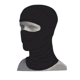 IGNYTE Stretchable Balaclava Face Mask for Bike Riding Comfort-Black
