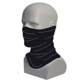 IGNYTE Multifunctional Smuff Headwrap / Mask / Scarf-Black
