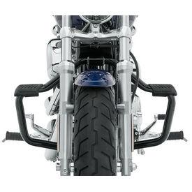 Mustache Engine Crash Leg Guard Black for Harley Davidson