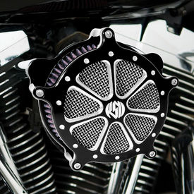 Air Cleaner Intake Filter System Black For Harley Davidson