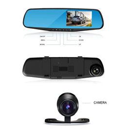 Speedwav Car 4.3 Inch Rear View Mirror Monitor with HD DVR 2 Cameras