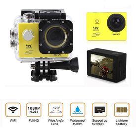 Speedwav 4K UHD DVR 2 Inch LCD Waterproof Action Camera with WiFi