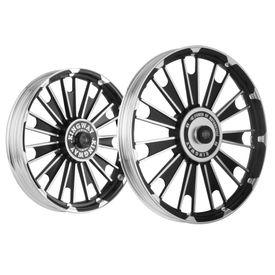 Kingway JSB Zipp Bike Alloy Wheel Set of 2 Black CNC