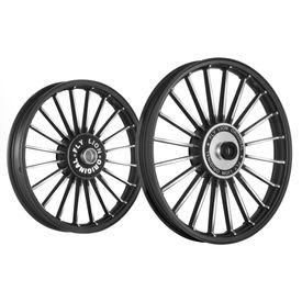Fly Lion JMB 20 Spokes Bike Alloy Wheel Black CNC Set of 2