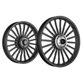 Fly Lion WVB 20 Spokes Bike Alloy Wheel Black Set of 2