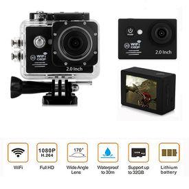 Speedwav Full HD 1080p DVR 2 Inch LCD Waterproof Action Camera with WiFi-Black