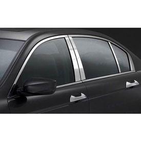 Side Window Chrome Garnishing For Nissan Sunny (2011-14)