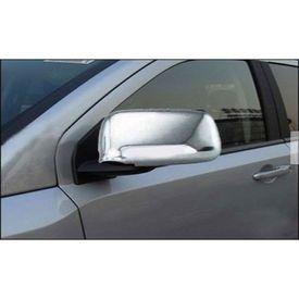 Speedwav Chrome Mirror Covers Set of 2-Nissan Sunny (2011-14) Petrol