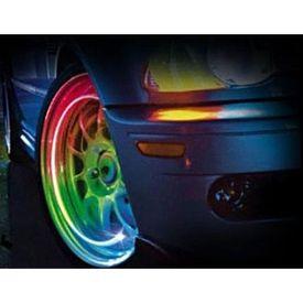Speedwav Car Rocket Shape Tyre LED with Motion Sensor RGB Set of 2