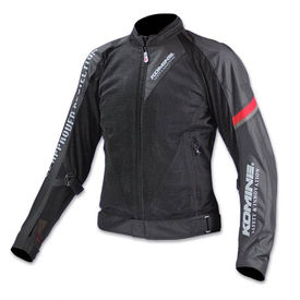 Komine JK-098 Riding Gear Body Armor CE Certified Jacket Black