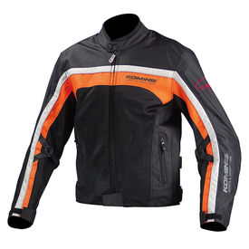 Komine JK-094 Bike Protective CE Certified Jacket Black Orange