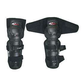 Komine SK-491 Bike Riding Knee Guard-Black