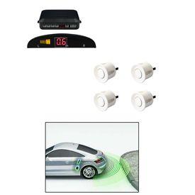 Speedwav Reverse Car Parking Sensor LED Display WHITE