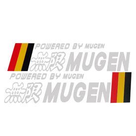 Speedwav Car Bumper Sticker-Powered by Mugen German Flag